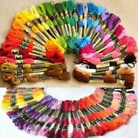 100Pc Cotton Cross Floss Stitch Thread Embroidery Sewing Skeins Multi Colors new