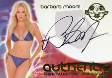2006 BENCHWARMER WORLD CUP SOCCER BARBARA MOORE AUTOGRAPH