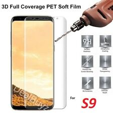 FULL SCREEN Face Curved TPU Screen Protector Cover for Samsung Galaxy S9