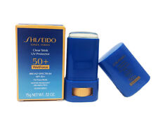 Shiseido Clear Stick UV Protector SPF 50+ for face/body 0.52oz/15g (NEW in Box)