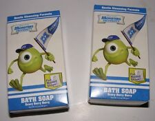 Disney Pixar Monsters University Scary Berry Bath Soap (2) New Sealed