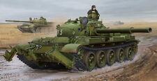 CHAR MOYEN SOVIETIQUE T-62, 1975 avec système KMT-6 - KIT TRUMPETER 1/35 n° 1550