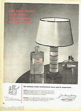 PUBLICITE ADVERTISING 066  1958  Jean Marie Farina Eau Cologne Roger & Gallet 2