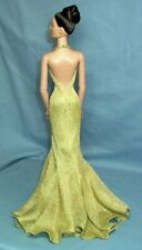 Green Jen Stallone Franklin Mint mermaid dress fits 15-16in dolls Alex Tyler