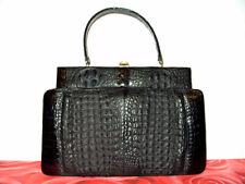 Hornback Krokotasche, IRV, Krokodilleder Tasche, Alligator,Crocodile Leather Bag