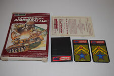 ARMOR BATTLE Intellivision INTV Game Cartridge COMPLETE In Box Sears TELE-GAMES