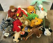 Beanie Babies Lot Huge Rare Bears Bulk Collectible Vintage Original Shipping Ty