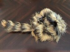 Larger Youth/Adult Size Coonskin Cap (Small to Medium Fit)