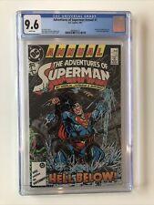 Adventures Of Superman Annual #1 CGC 9.6 Jim Starlin DAN JURGENS 1987