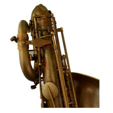 Professional Eastern music New Vintage color Baritone Saxophone with carry case
