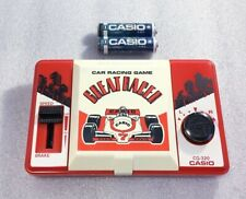 CASIO Game Watch Car racing game GREAT RACER CG-320 Retro Game Made in Japan