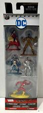 New listing Jada Toys Nano Metalfigs Dc Wonder Woman Cyborg The Flash Batman Parademon (Nib)