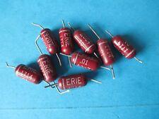 Vintage Erie Condensador. 0.01uF 400 V. 1 piezas