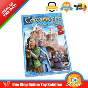 OZ Carcassonne: Winter Edition Board Game Super Fun Family Party Game AU Stock