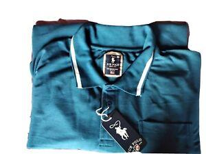 BNWT Polo Shirt, Teal, 6xl