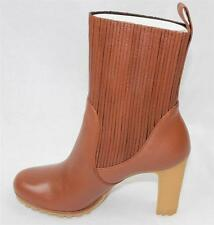 AUTH $1150 Gucci Women Brown High Heel Boots 37