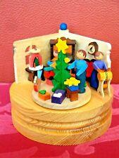 echt Erzgebirge Graupner, Spieldose Weihnachtsstube
