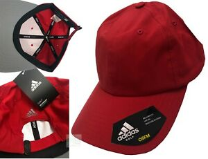 Adidas Golf Relaxed Performance Crestable Golf Cap - RRP£20 - Red
