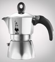 Bialetti caffettiera Dama Nuova in alluminio 3 tazze caffè moka espresso