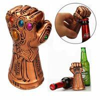New Creative Infinity Thanos Gauntlet Glove Bottle Opener Beer Soda Cap Opening