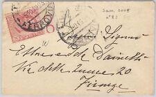 53940  - ITALIA REGNO - Storia Postale: LEONE 10 Cent. bordo foglio su BUSTA