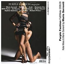 Purple Fashion 12,Kate Moss,Mario Sorrenti,Richard Prince,Nobuyoshi Araki SEALED
