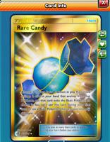 DIGITAL Secret Rare Candy pokemon tcg online