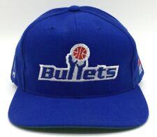 Vintage Washington Bullets Snapback Hat Sports Specialties Plain Logo Wizards
