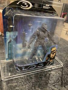 MOCKUP PROTOTYPE - Halo 3 Series 2 - Tan Spartan Soldier Scout - McFarlane