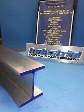 "I Beam 6061 T6 Aluminum 3"" x .150"" x 2.5"" x 24""-Long"