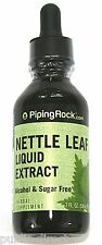 2oz LIQUID Nettle Leaf Extract 2000mg Alcohol Sugar Free Drops Herbal Tincture