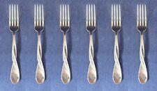 SET OF SIX - Oneida Stainless AQUARIUS (GLOSSY) Dinner Forks NEW