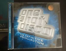 One Shot Disco The Definitive Discollection 2XCD 1999 Universal – 545 256 - 2