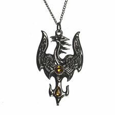 Mythic Celts Avalonian Phoenix Pendant Necklace For Fruitful Transitions MY1