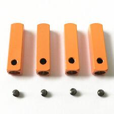 Yeezy tips lacets pour baskets chaussures baskets-orange vif (4 pièces)