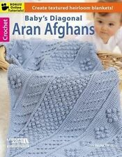 Crochet Book - Baby's Diagonal Aran Afghans by Leisure Arts (Paperback)