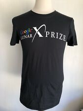 GOOGLE LUNAR XPRIZE Official SUPER RARE Moon 2.0 X PRIZE T-Shirt Size Small