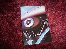 Catalogue /  Brochure HARLEY DAVIDSON Gamme / Full line  1999 //