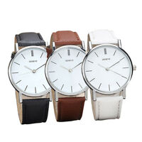 Fashion Womens WATCH Retro Design Leather Band Analog Alloy Quartz Wrist Watch