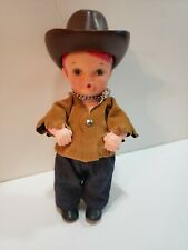 "Sippin Sam 6"" Vinyl Doll Kenner Vintage 1972 General Mills Fun Group Promo W/Hat"