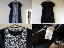 Jonathan Saunders Target Black White Polka Dot Bib Front Cotton Sheath Dress XS