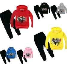 Fortnight Tracksuit Boys Girls Sweatshirt & Pants Long Sleeve Hooded Cotton Thin