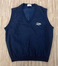 John Deere Classic Golf Pullover Vest Top ~ Men's Large L ~ PGA Tour Event Blue