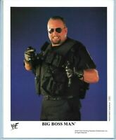 WWE BIG BOSSMAN P-507 OFFICIAL LICENSED AUTHENTIC ORIGINAL 8X10 PROMO PHOTO RARE