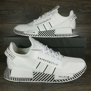 Adidas NMD R1 V2 'Dazzle Camo White' Sneakers (FY2105) Men's Sizes