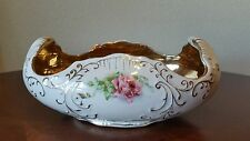 Antique 24K Gold Lined Compote Bowl The Colonial Co. / Marked