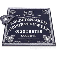 BLACK & WHITE SPIRIT OUIJA BOARD WICCA PAGAN GOTHIC OCCULT PAGAN MAGIC HALLOWEEN