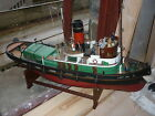 A radio control Tug boat Lady Jan. well built and painted.