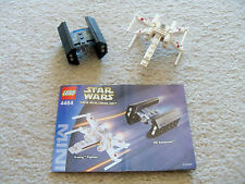 LEGO Star Wars - Rare 4484 X-wing Fighter & TIE Advance - w/ Instructions