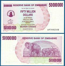 SIMBABWE / ZIMBABWE 50.000.000 Dollars 2008 UNC  P. 57